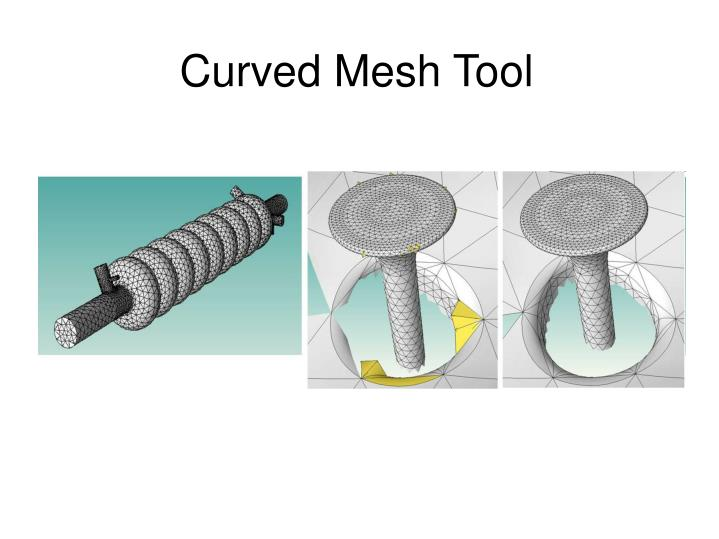 Curved Mesh Tool