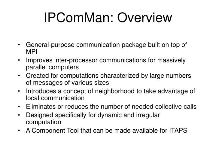 IPComMan: Overview