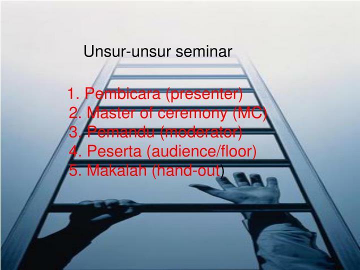 Unsur-unsur seminar