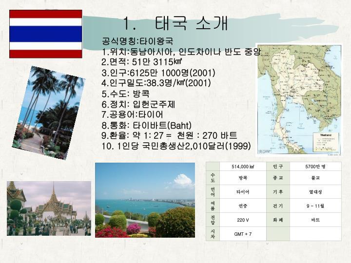 태국 소개