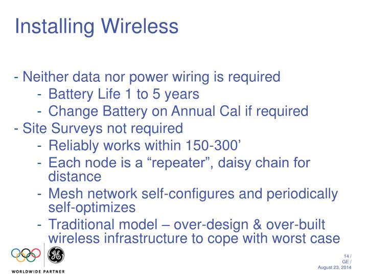 Installing Wireless