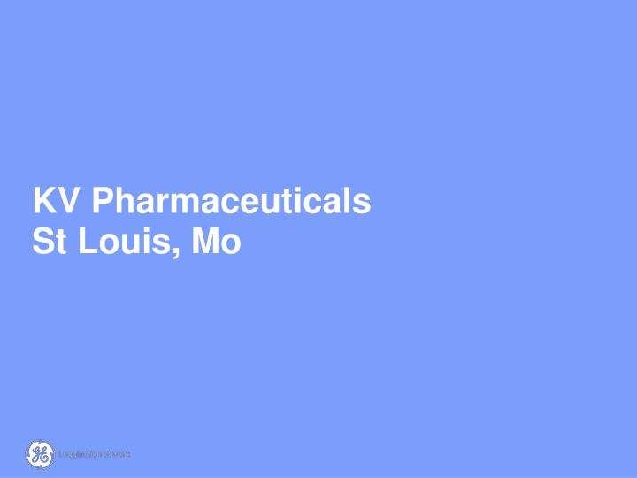 KV Pharmaceuticals