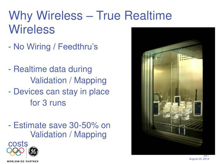 Why Wireless – True Realtime Wireless
