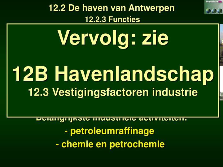 12.2 De haven van Antwerpen
