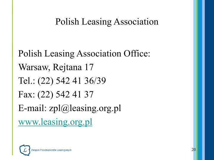 Polish Leasing Association