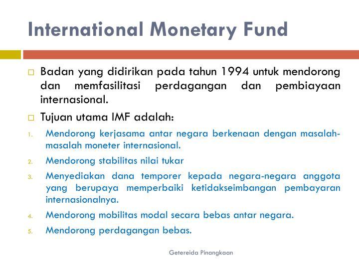International Monetary
