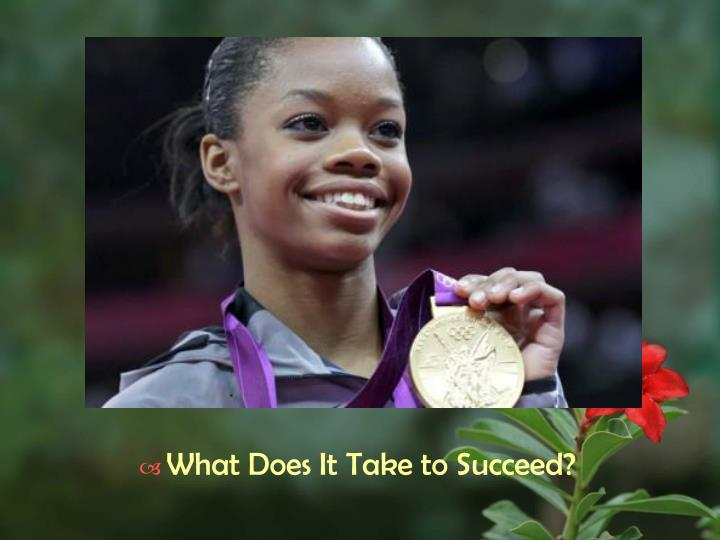What Does It Take to Succeed?