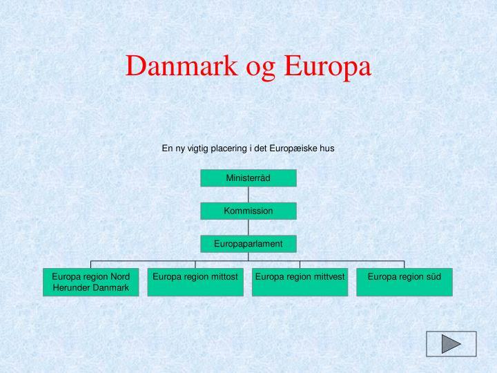 Danmark og Europa