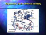 regenera n okruh sulf tovej celul zky
