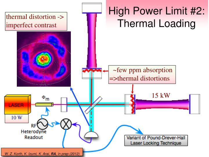High Power Limit #2: