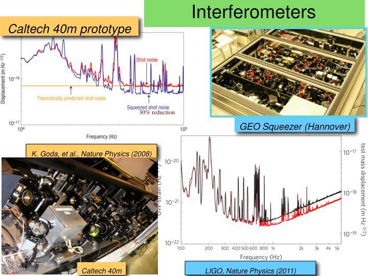 Squeezed Interferometers