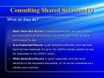 consulting shared services 2
