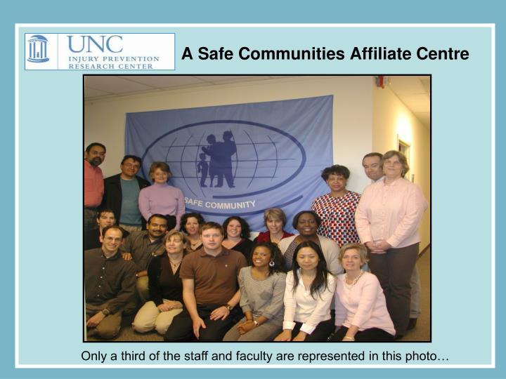 A Safe Communities Affiliate Centre