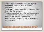 technological systems ipof