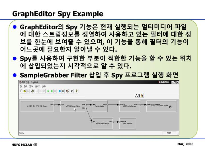 GraphEditor Spy Example