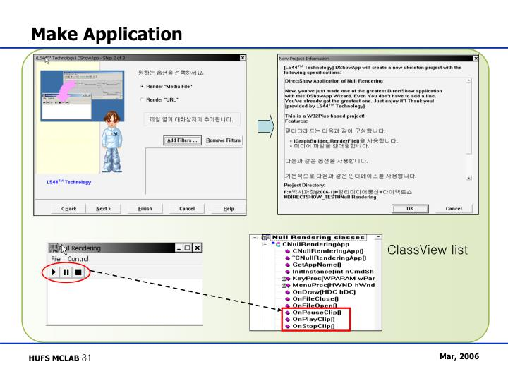Make Application