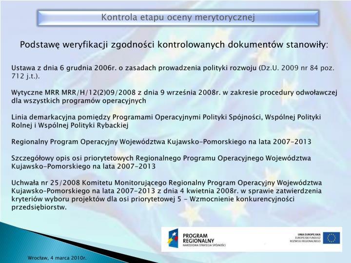 Ustawa z dnia 6 grudnia 2006r. o zasadach prowadzenia polityki rozwoju (