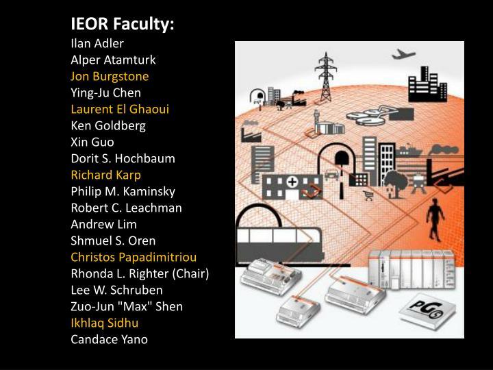 IEOR Faculty: