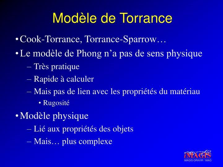Modèle de Torrance