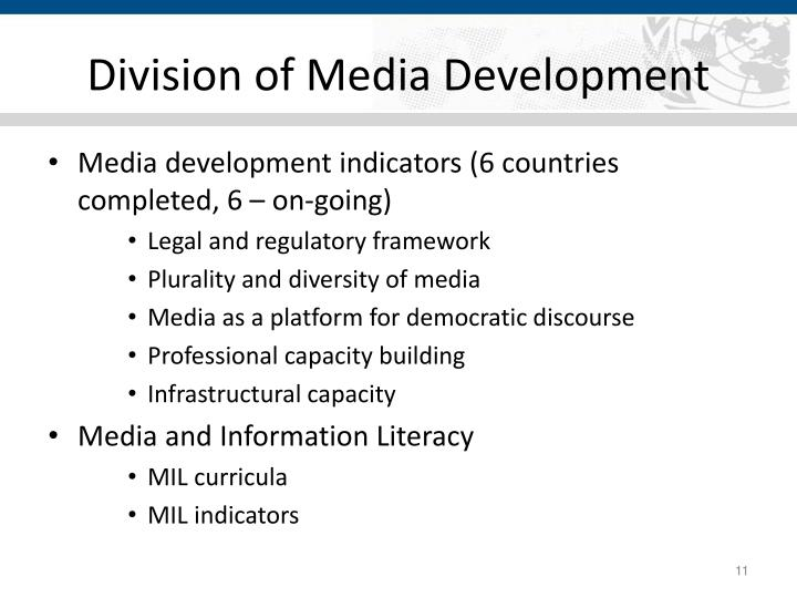 Division of Media Development