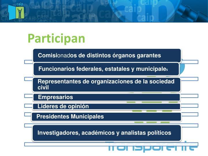 Participan