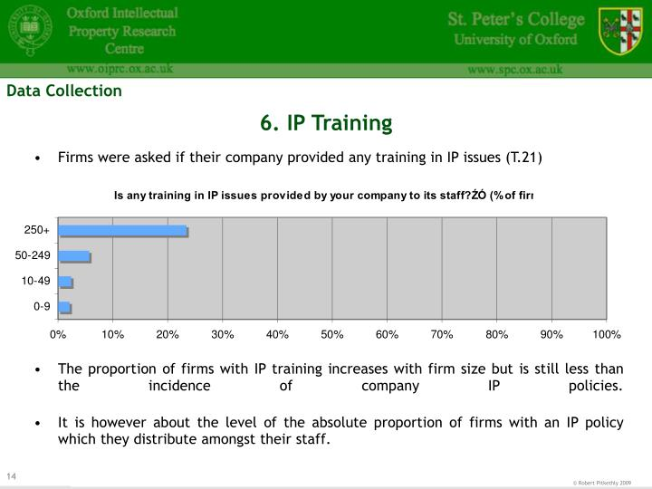 6. IP Training