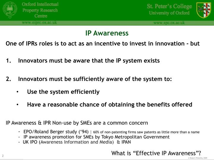 Ip awareness