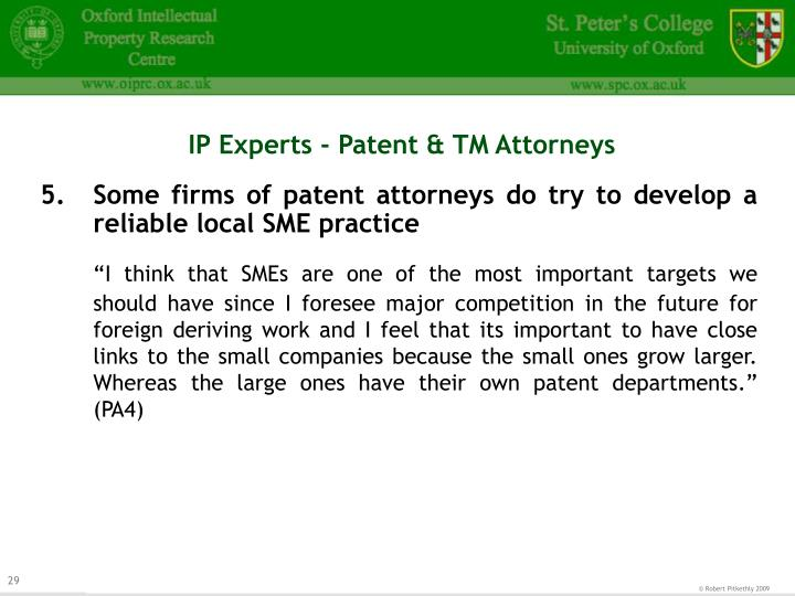 IP Experts - Patent & TM Attorneys