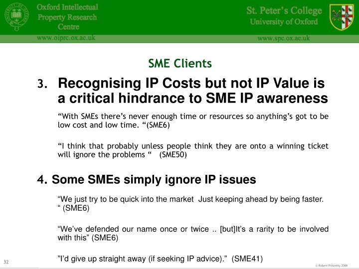 SME Clients