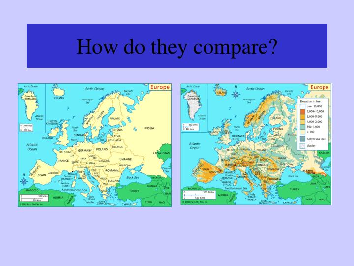How do they compare?