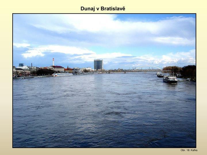 Dunaj v Bratislavě