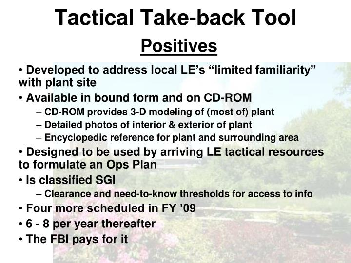 Tactical Take-back Tool