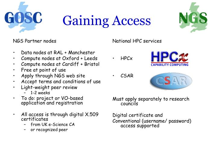 NGS Partner nodes