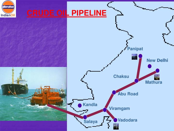 CRUDE OIL PIPELINE