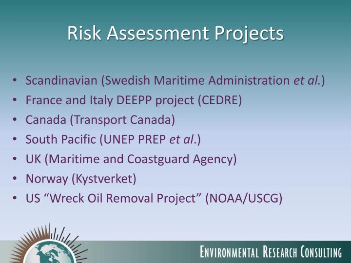 Risk Assessment Projects