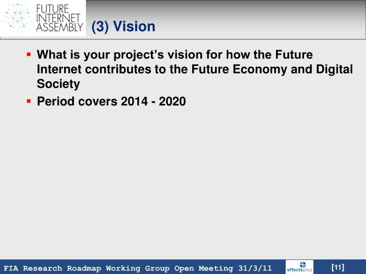 (3) Vision