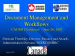 germain tremblay director finance and awards administration division nserc sshrc