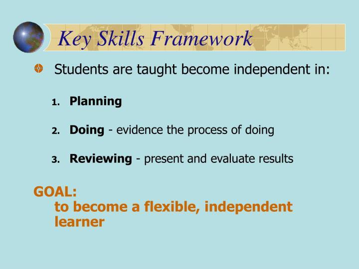 Key Skills Framework