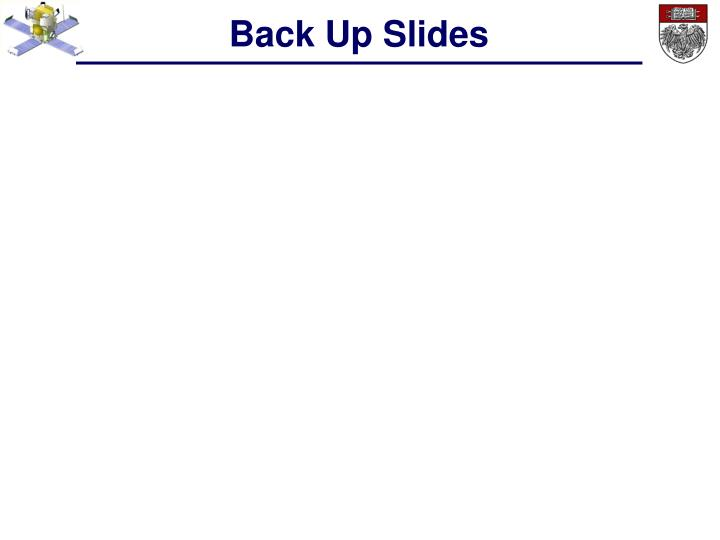 Back Up Slides