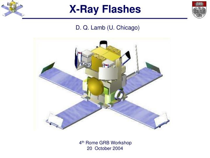 X ray flashes