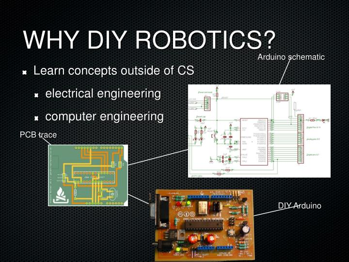 Why diy robotics
