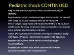 pediatric shock continued1