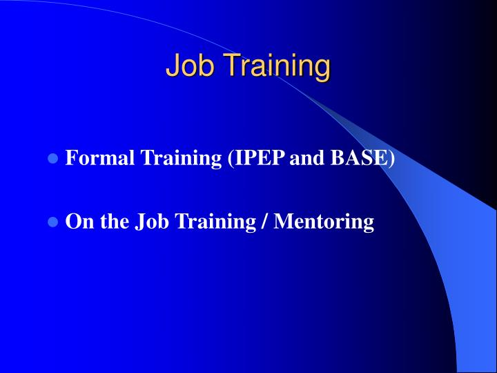 Job Training