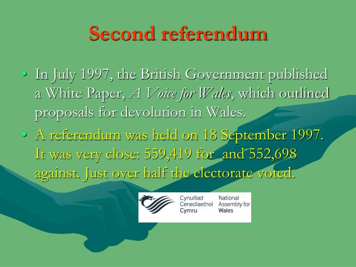 Second referendum