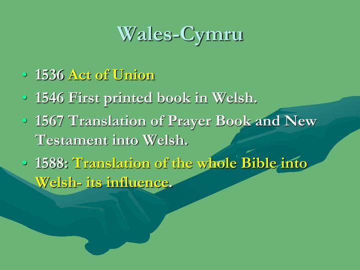 Wales-Cymru