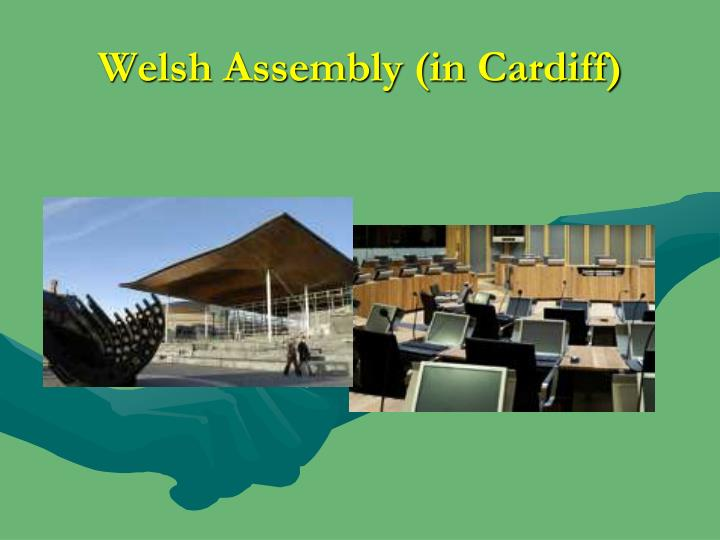 Welsh Assembly (in Cardiff)