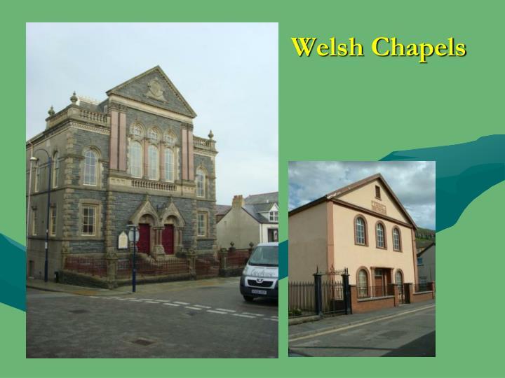 Welsh Chapels
