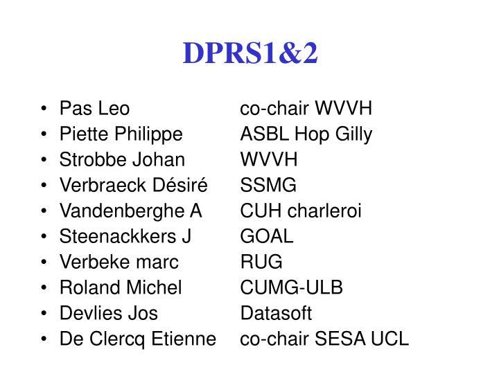 DPRS1&2
