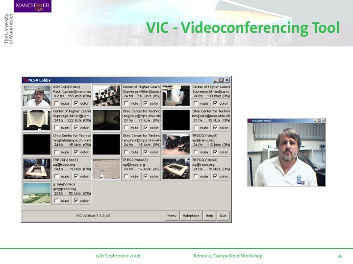 VIC - Videoconferencing Tool