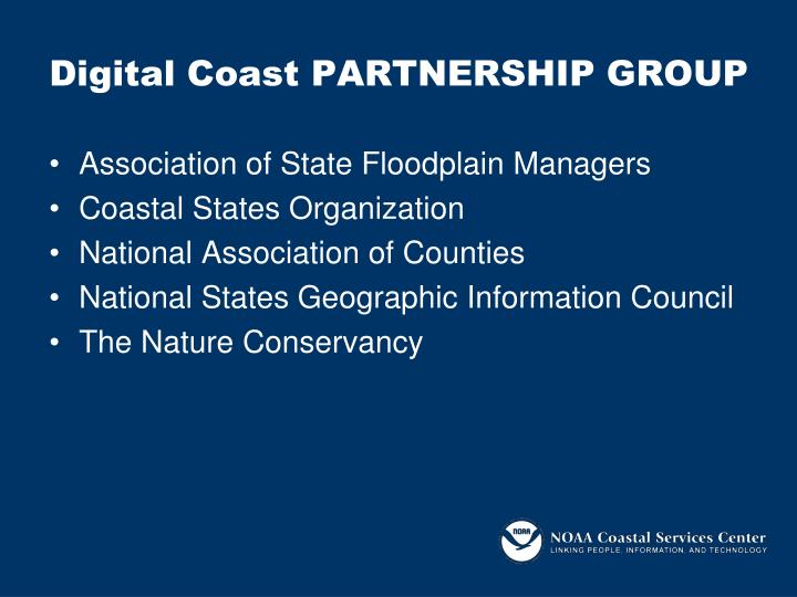 Digital Coast PARTNERSHIP GROUP